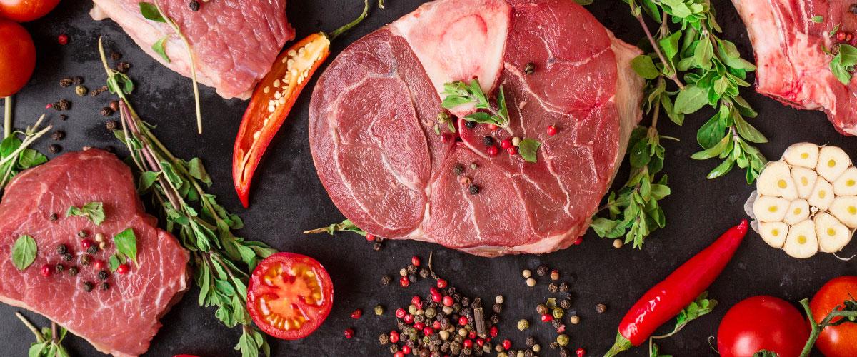 Fleisch und Wurst