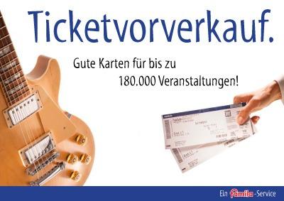 Ticketvorverkauf
