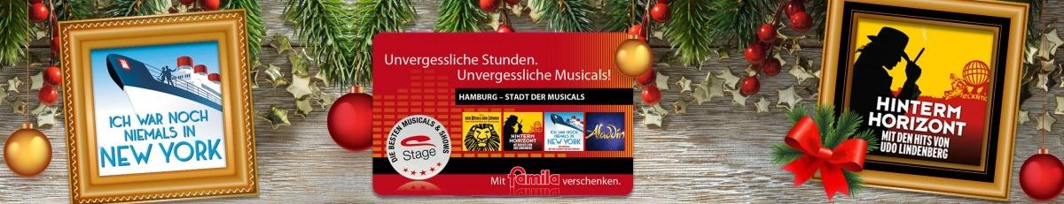 Stage-Geschenkkarte