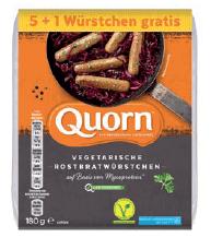 vegetarische Würstchen von Quorn