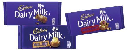 Cadbury Schokolade