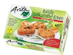 Avita Rucola-Süßkartoffel-Ecken