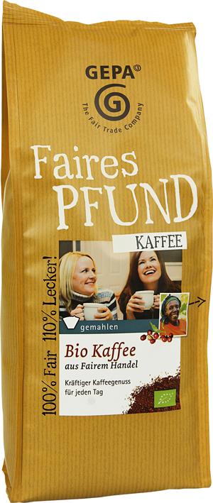 Gepa - Fair Trade Kaffee