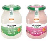 Andechser Joghurt im Mehrweg-Glas