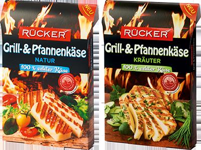 Rücker Grill-und Pfannenkäse