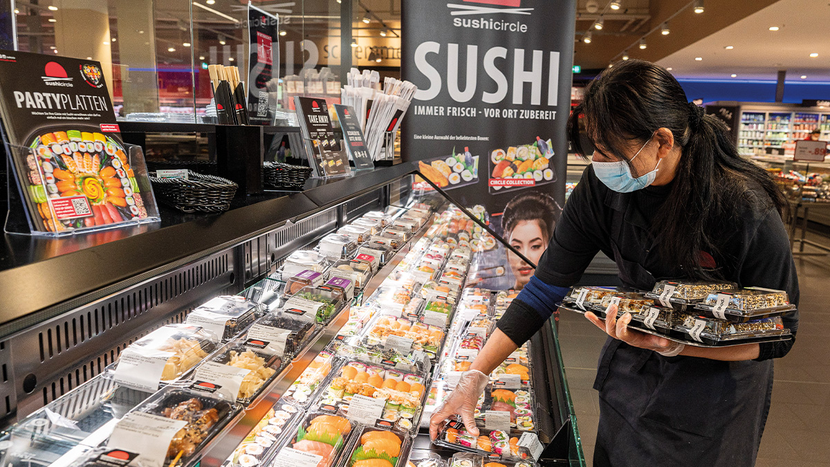 Sushi Bars bei famila